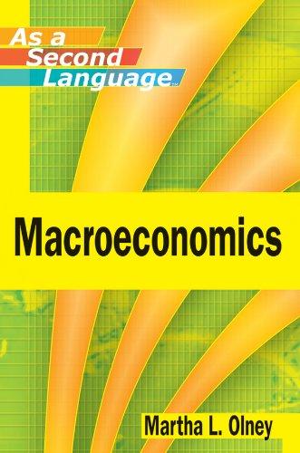 9780470505380: Macroeconomics as a Second Language