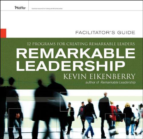 Facilitator s Guide: Participant Workbook: Kevin Eikenberry