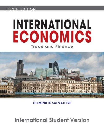 9780470505823: International Economics
