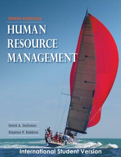 9780470505854: Human Resource Management