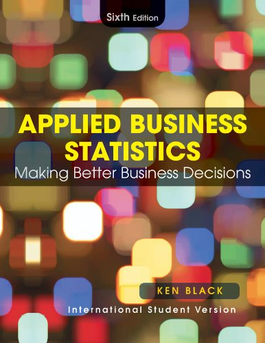 9780470505885: Applied Business Statistics: Making Better Business Decisions