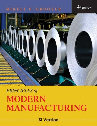 9780470505922: Principles of Modern Manufacturing: SI Version