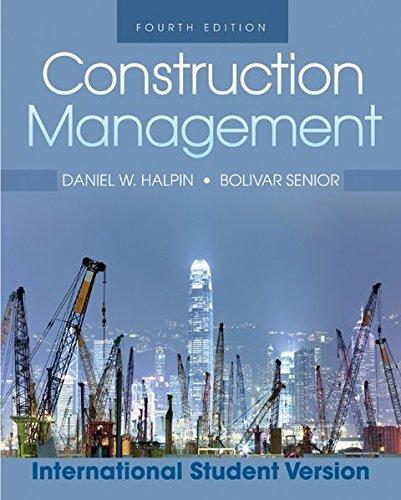 9780470505939: Construction Management