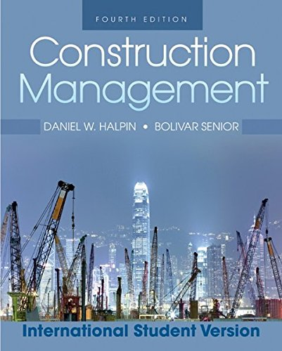 Construction Management: Daniel W. Halpin