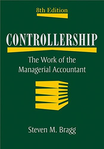 9780470507810: Controllership: The Work of the Managerial Accountant