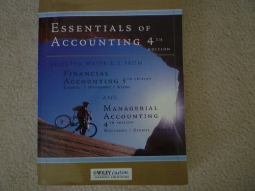 Essentials of Accounting: Paul D. Kimmel