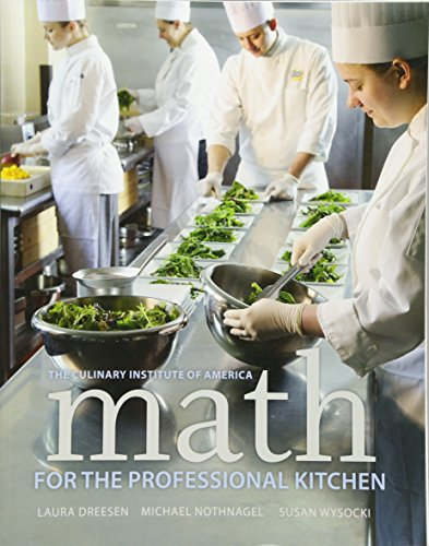9780470508961: Math for the Professional Kitchen (Culinary Institute of America)