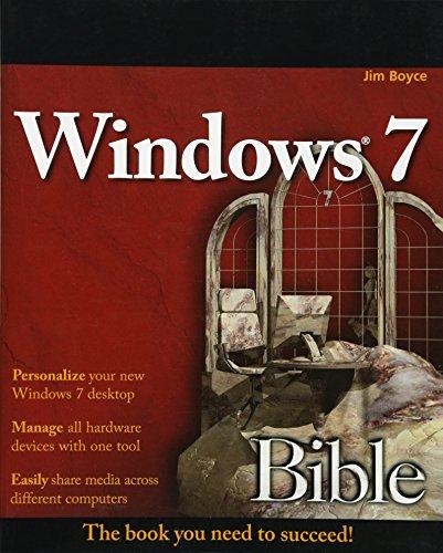 9780470509098: Windows 7 Bible