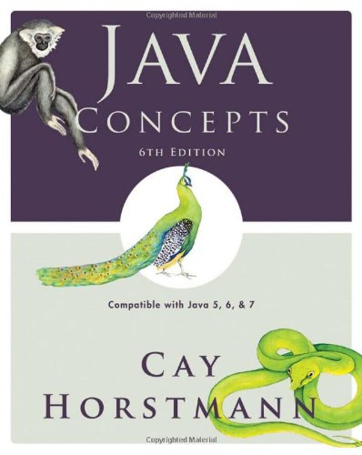9780470509470 java concepts compatible with java 5 6 and 7 rh abebooks com Horstmann Java for Everyone 2E Horstmann Big Java