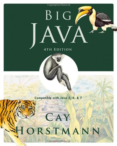 Big Java : Compatible with Java 5,: Cay S. Horstmann