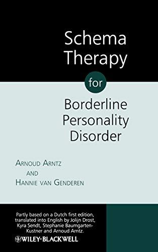 9780470510803: Schema Therapy for Borderline