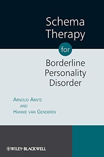9780470510810: Schema Therapy for Borderline