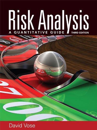 9780470512845: Risk Analysis: A Quantitative Guide