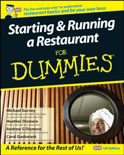 9780470516218: Starting and Running a Restaurant for Dummies