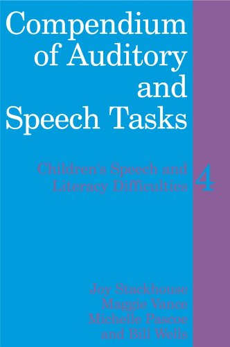9780470516591: Compendium of Auditory and Speech Tasks: 4 (Children's Speech & Literacy Difficulties)