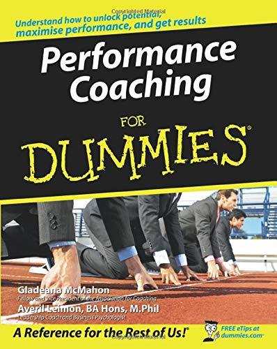 9780470517482: Performance Coaching For Dummies