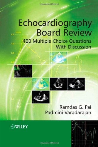 9780470518229: Echocardiography Board Review: 400 Multiple Choice Questions with Discussion