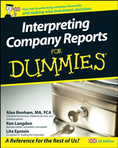 9780470519066: Interpreting Company Reports For Dummies