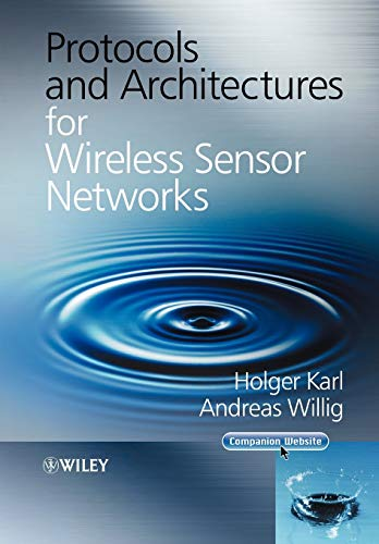 9780470519233: Protocols and Architectures for Wireless Sensor Networks