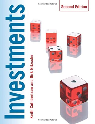 Investments (Paperback): Keith Cuthbertson, Dirk
