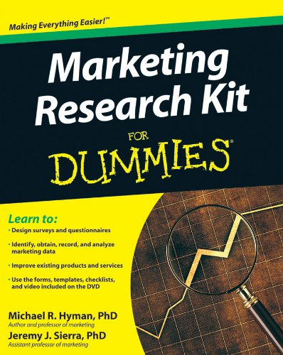 9780470520680: Marketing Research Kit For Dummies