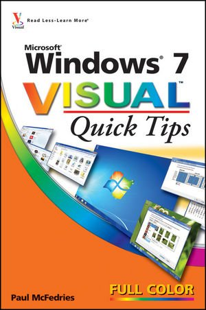 9780470521175: Windows 7 Visual Quick Tips