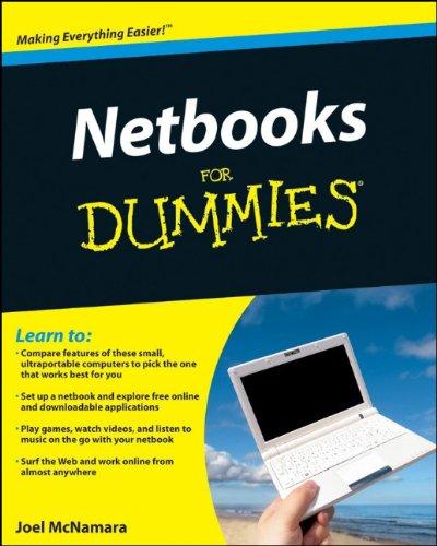 9780470521236: Netbooks For Dummies