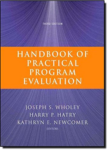 Handbook of Practical Program Evaluation: Newcomer, Kathryn E.,Hatry,