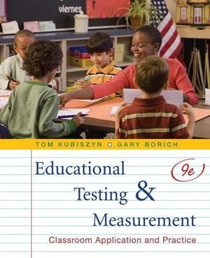 9780470522813: Educational Testing and Measurement: Classroom Application and Practice