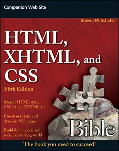 9780470523964: HTML, XHTML, and CSS Bible