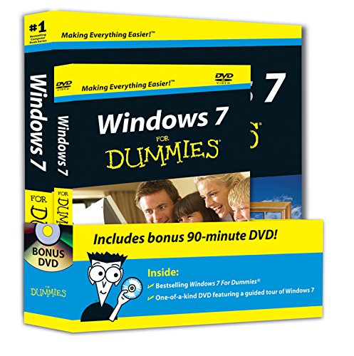 9780470523988: Windows 7 For Dummies, Book + DVD Bundle