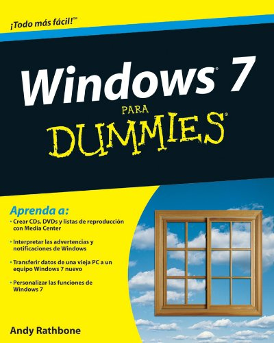 9780470523995: Windows 7 Para Dummies (Para Dummies/for Dummies)