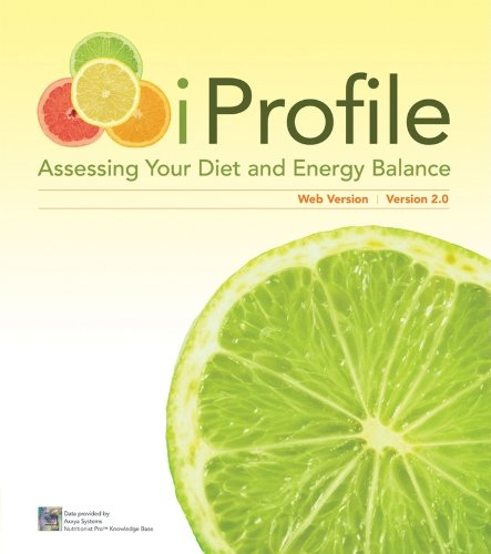 9780470524022: iProfile CD: Assessing Your Diet and Energy Balance, 2.0