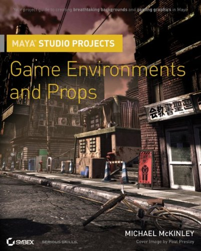 9780470524039: Maya Studio Projects: Game Environments and Props