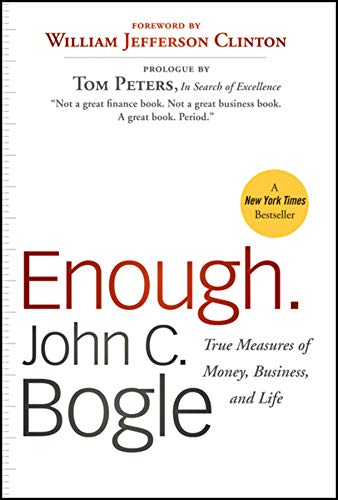 9780470524237: Enough: True Measures of Money, Business, and Life