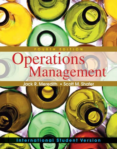 9780470524572: Operations Management