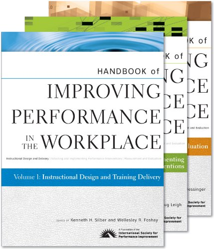 9780470525432: Handbook of Improving Performance in the Workplace, , Volumes 1 - 3 Set (Pfeiffer Essential Resources for Training and HR Professiona)