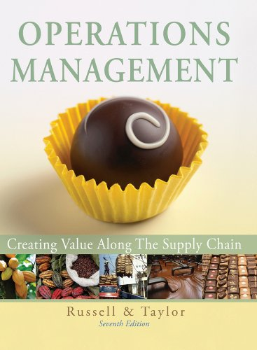 Operations Management : Creating Value along the: Russell, Roberta S.