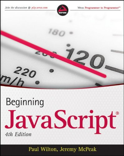 9780470525937: Beginning JavaScript