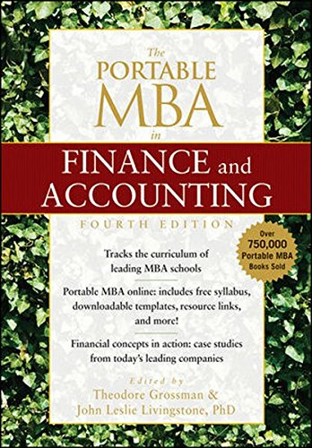 9780470526293: The Portable MBA in Finance and Accounting