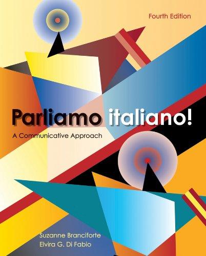 9780470526774: Parliamo italiano!: A Communicative Approach