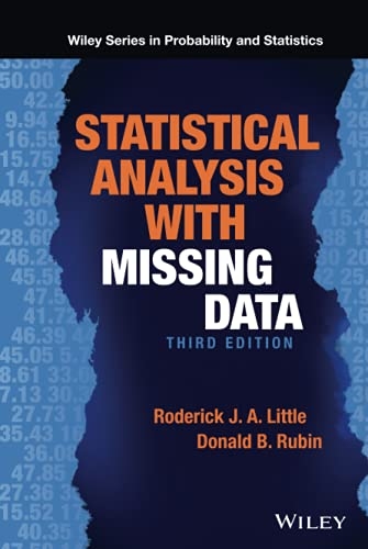 9780470526798: Statistical Analysis with Missing Data (Wiley Series in Probability and Statistics)