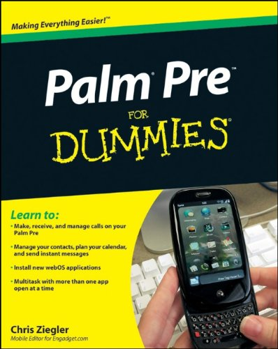 9780470526897: Palm Pre for Dummies