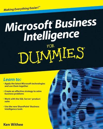 9780470526934: Microsoft Business Intelligence for Dummies