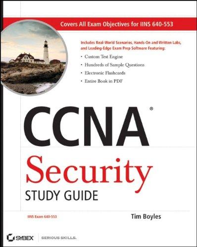 9780470527672: CCNA Security Study Guide: Exam 640-553