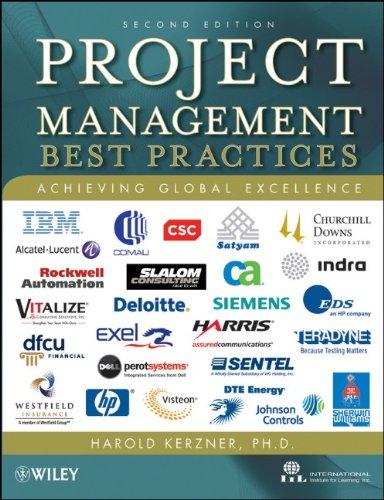 Project Management � Best Practices: Achieving Global: Kerzner, Harold, Ph.D./