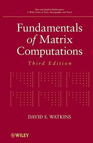 9780470528334: Fundamentals of Matrix Computations