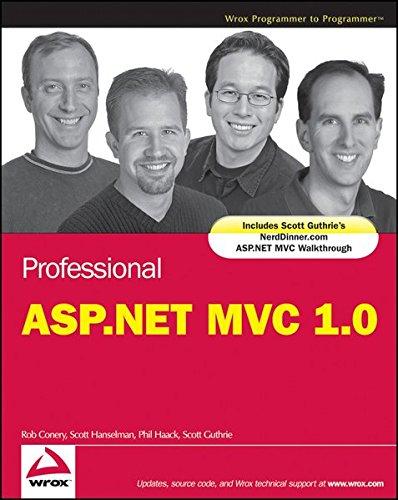 9780470530023: Professional Asp.net Mvc 1.0