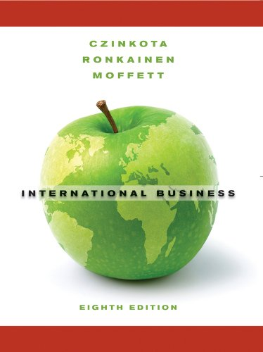 9780470530658: International Business