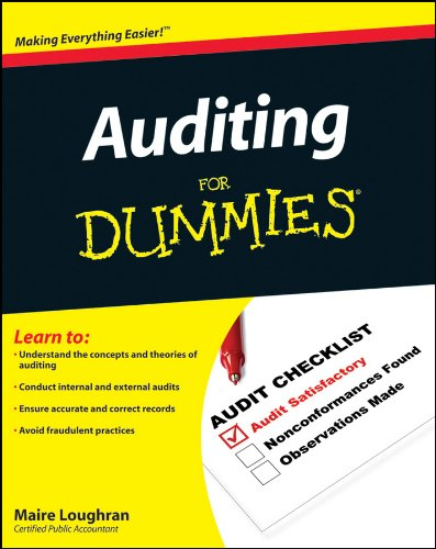 9780470530719: Auditing for Dummies